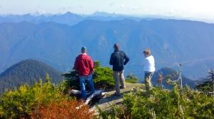 View from Mount Seymour's Third Peak