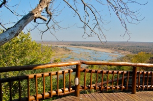 Beautiful views from Kruger Park's Olifants Camp