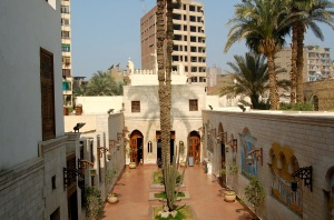 The beautiful Hanging Church in Coptic Cairo