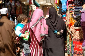 Colourful, bustling Khan el Khalili bazaar