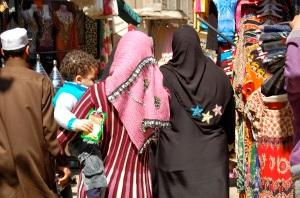 Colourful, bustling Khan el Khalili bazaar