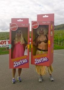 Malibooze Barbies at Half Corked Marathon