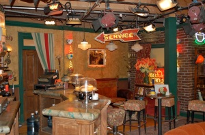 "The ""Friends"" set at Warner Bros. Studio Tour—Caroline Helbig"