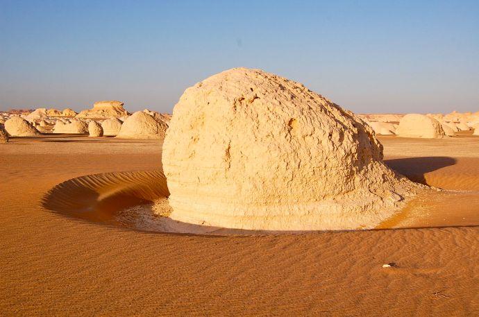 White Desert Inselbergs