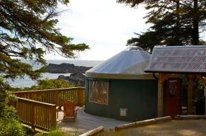 Yurts at Wya Point Resort—Caroline Helbig