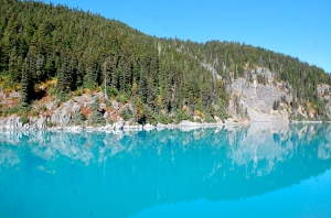 Impossibly turquoise water of Garibaldi Lake—C.Helbig