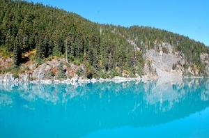 Impossibly turquoise water of Garibaldi Lake—C.Helbig