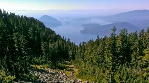 View to Howes Sound from Howe Sound Crest Trail near Brunswick Mountain—C.Helbig