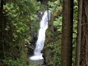 Upper Falls, Cypress Falls Park West Vancouver—C.Helbig