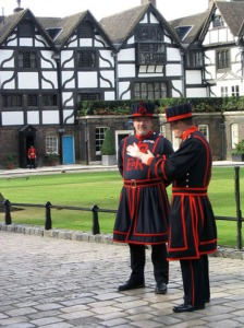 Beefeaters at Tower of London Tour