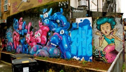 Street art near Brick Lane—C.Helbig