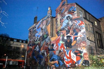 Cable Street Mural—C.Helbig