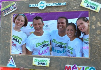 Zumba Vancouver and Mexican instructors at Zihua Zumbaton