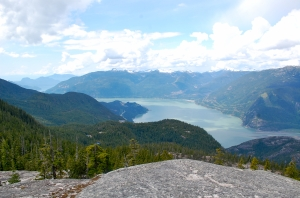 View from Al's Habrich trail, Sea to Sky Gondola, Squamish—C. Helbig