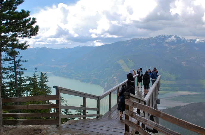 The Chief Overlook viewing platform—C.Helbig