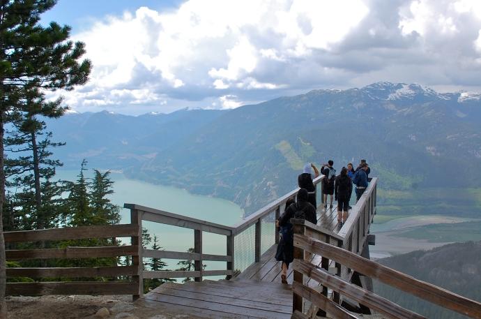 The Chief Overlook viewing platform—C.Helbig