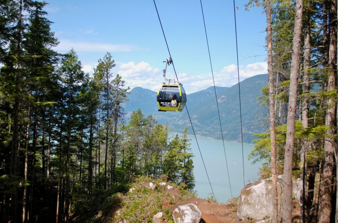 View of Howe Sound from Sea to Summit trail—C.Helbig
