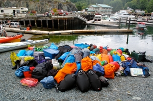 Hard to believe all this fit into our kayaks—C.Helbig