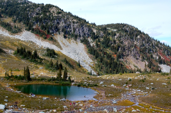 Enjoy Symphony Lake on High Note Trail before the short uphill grunt—C.Helbig