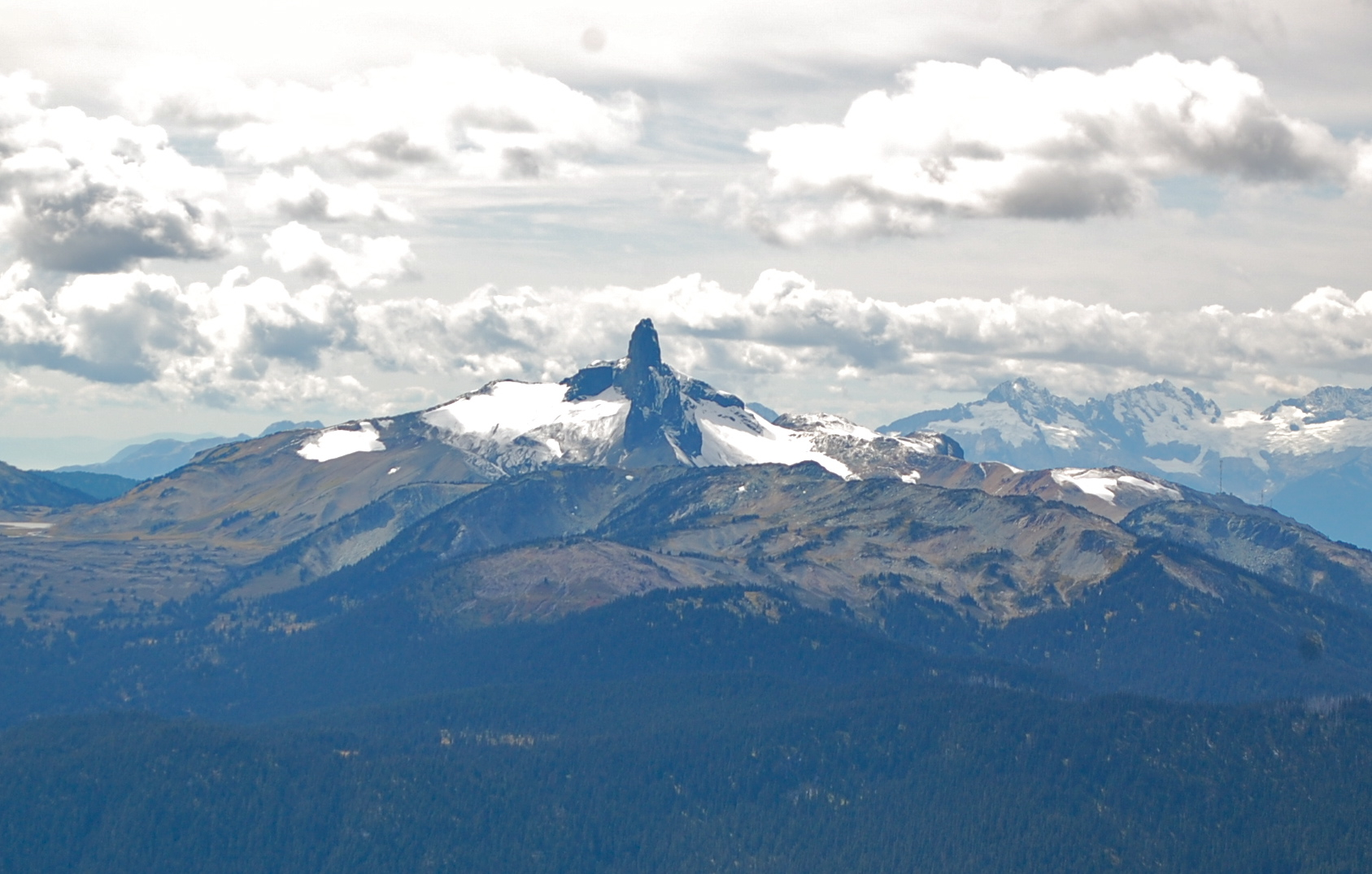 A high note on whistler mountain writes of passage black tusk seen from high note trailchelbig sciox Choice Image
