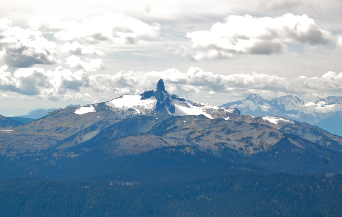 Black Tusk seen from High Note Trail—C.Helbig