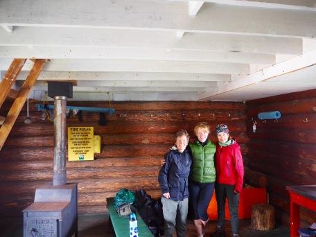 Mt.Steele cabin, Tetrahedron Park