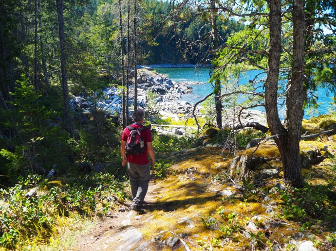 Shellaligin Pass, Quadra Island--C.Helbig