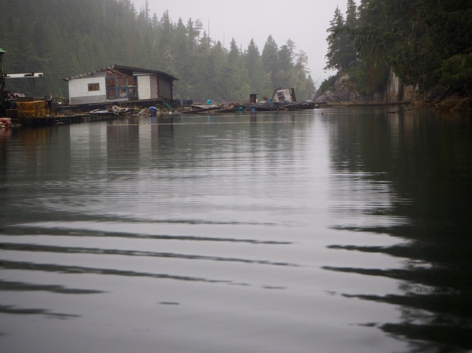 Eerie beauty of abandoned fishing facility—C.Helbig