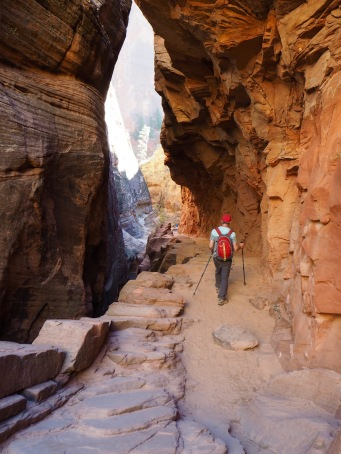 Entering Echo Canyon on the downhill—C.Helbig