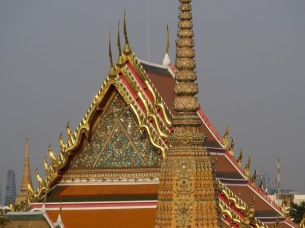 View to Wat Phra Kaew