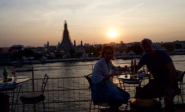 Sunset drinks at Arun Residence