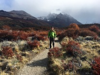 Along the Laguna Torre trail