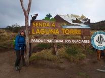Laguna Torre trailhead