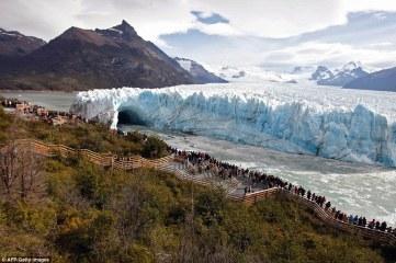 Perito Moreno in March, 2016
