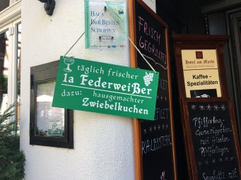 Federweisser is available in September/October