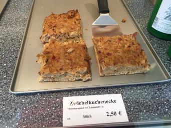 Zwiebelkucken, a delicious fall specialty