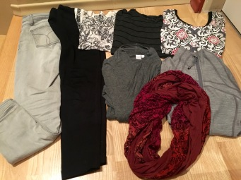 My non-biking clothes