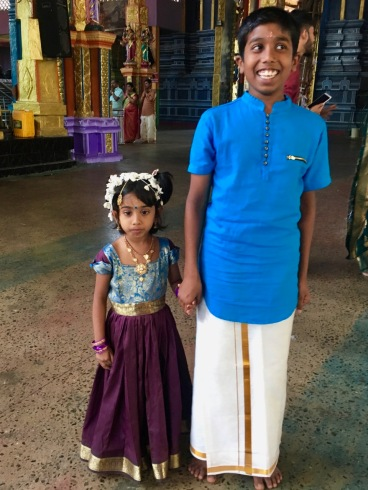 Cute kids at Matale wedding