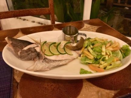 Wonderful fresh fish