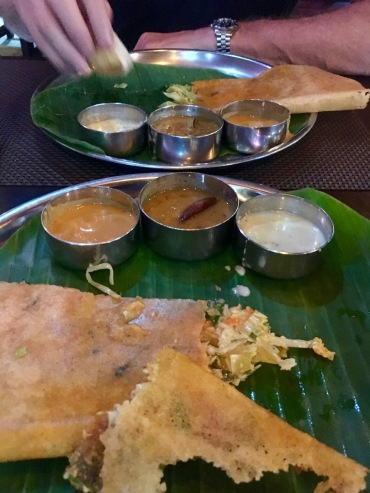 Dosa with dips